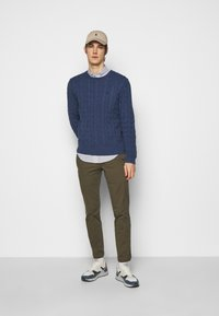 Polo Ralph Lauren - CABLE - Pullover - derby blue heather - 1