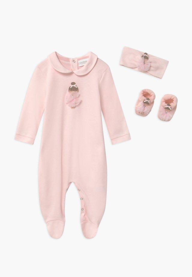 GIFT-BOX BALLERINA TUTU SET - Geschenk zur Geburt - rosa