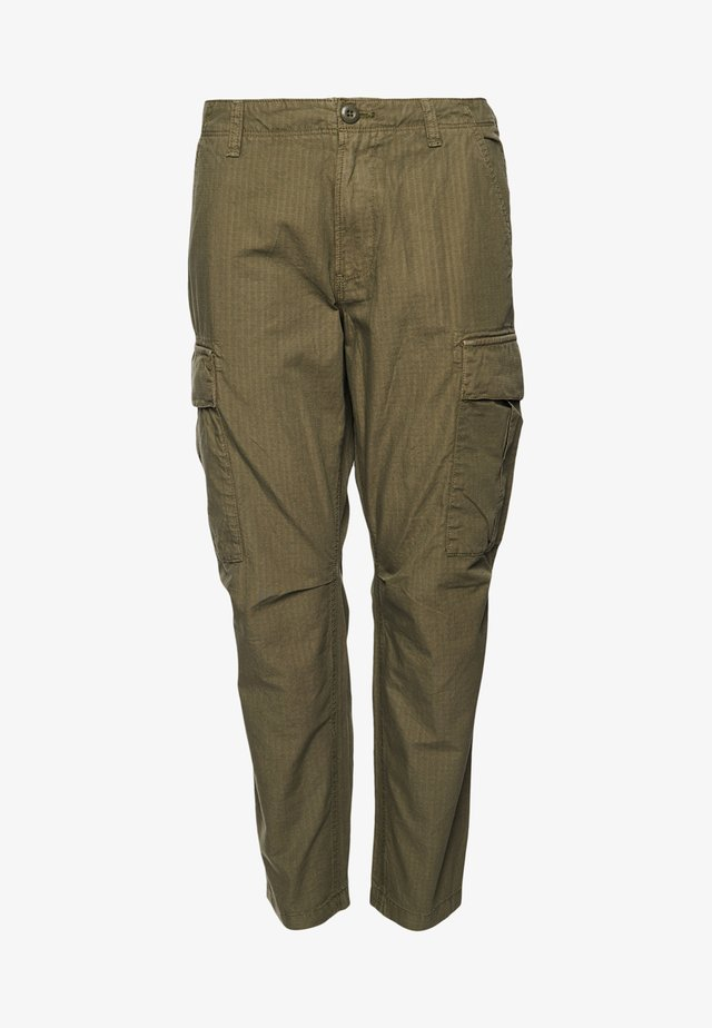 Cargo trousers - washed khaki