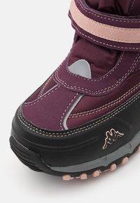 Kappa - BONTE TEX UNISEX - Winter boots - purple/rosé - 5