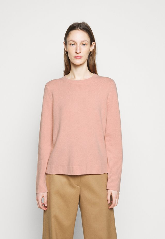 THE BOXY - Strikpullover /Striktrøjer - mellow rose