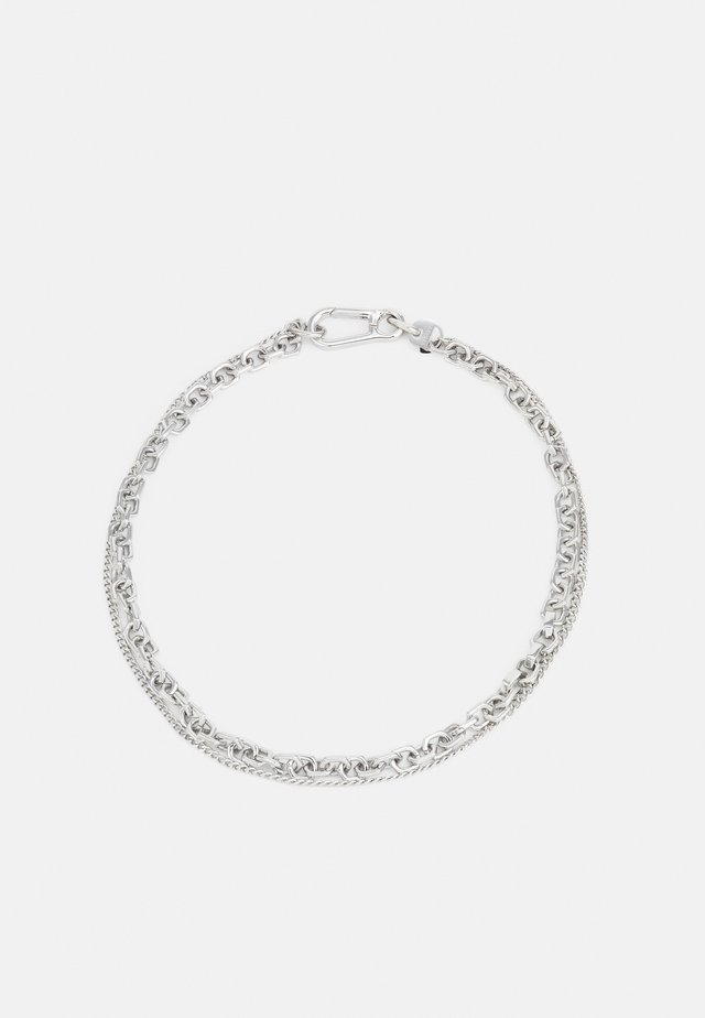 REPEAT UNISEX - Halsband - silver-coloured