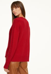 comma - LOOSE FIT - Jumper - red - 2