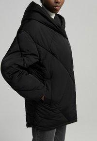 Bershka - Winter jacket - black - 3