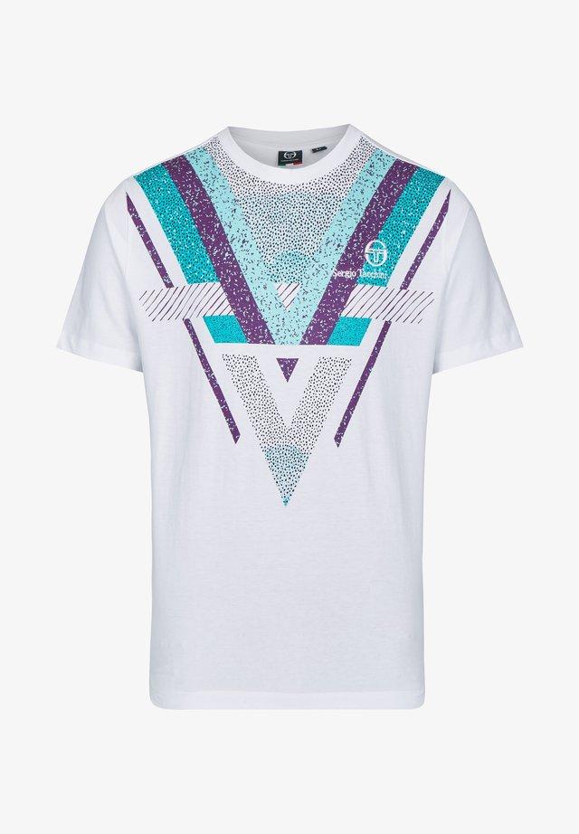 SINZIO  - Camiseta estampada - white