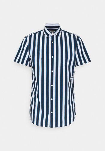 JJCHRIS STRIPE SHIRT - Shirt - classic blue