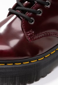 Dr. Martens - VEGAN JADON II - Lace-up ankle boots - cherry red - 2