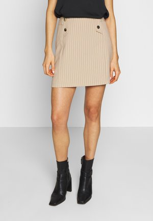 MAGGIE SKIRT - A-Linien-Rock - nude