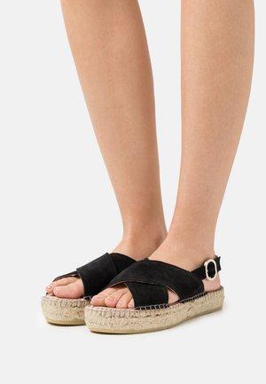 MARLIE - Platform sandals - black