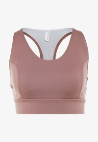 Free People - LIGHT SYNERGY CROP - Light support sports bra - chocolate - 4