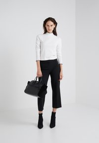 J.CREW - EVERYBODY WIDE LEG SEASONLESS STRETCH - Trousers - black - 1