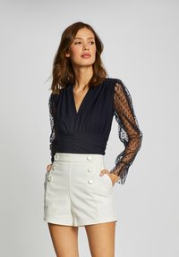 Morgan - Long sleeved top - dark blue - 0