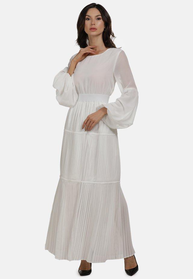KLEID - Robe longue - weiss