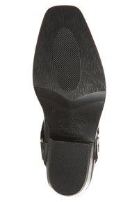 Kentucky's Western - Cowboy/Biker boots - black - 5