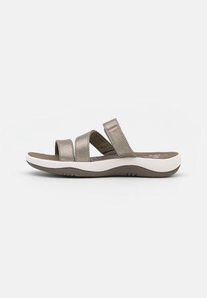 SUNMAZE COAST - Pantofle - pewter