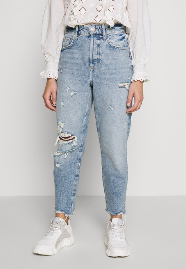 Relaxed fit jeans - midwash