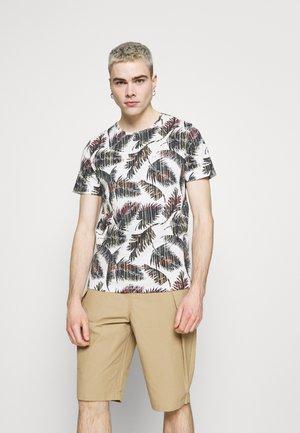 JORHAZY TEE CREW NECK - T-shirt con stampa - cloud dancer