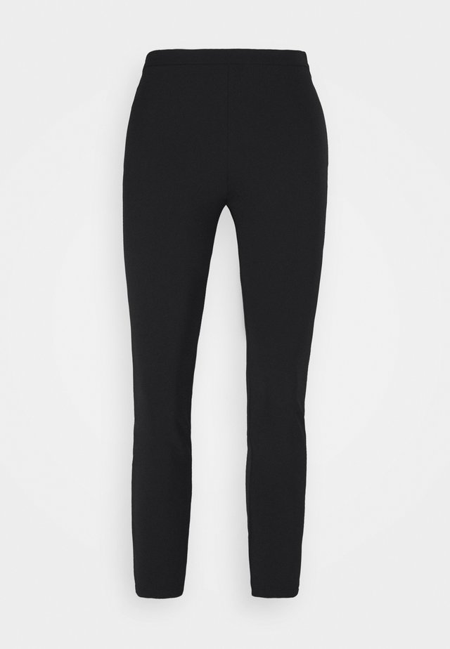 BRUSCO PANTALONE TECNICO STRETCH - Leggingsit - black