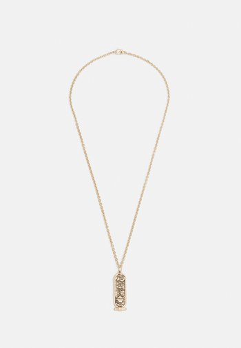 SCROLL PENDANT NECKLACE - Halsband - gold-coloured