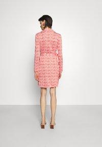 Diane von Furstenberg - NEW JEANNE - Jersey dress - ibiza red - 2