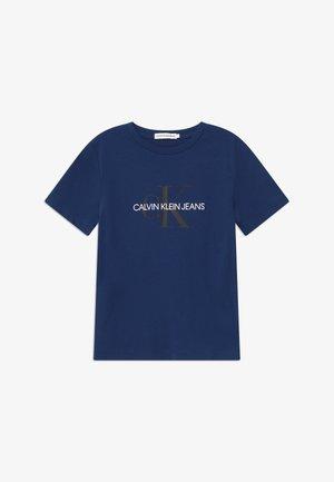 MONOGRAM LOGO UNISEX - T-shirt z nadrukiem - blue