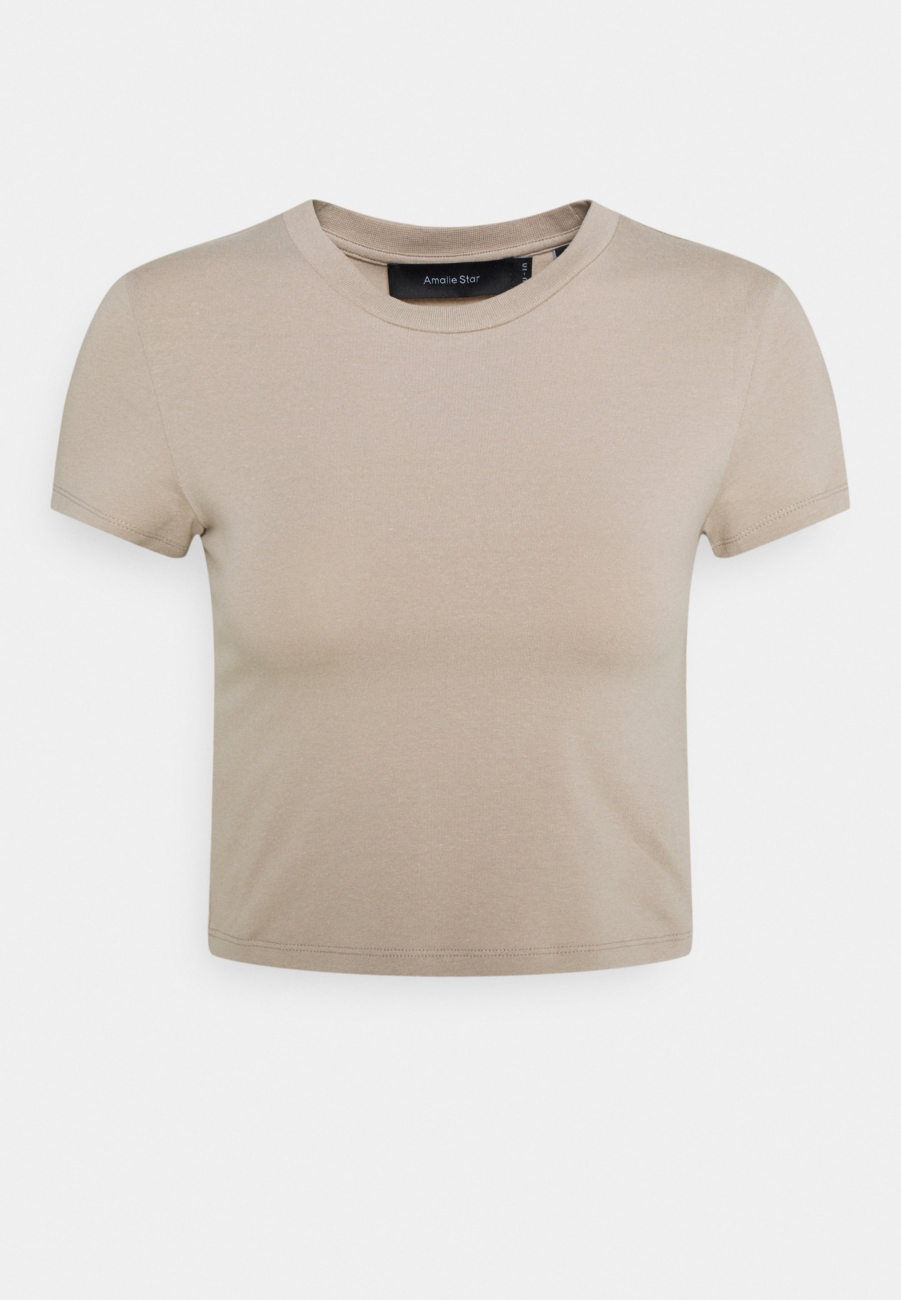 Women NU-IN X AMALIE STAR CROPPED BABY FIT - Basic T-shirt