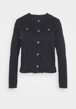JACKET BAIR RINSED - Denim jacket - black