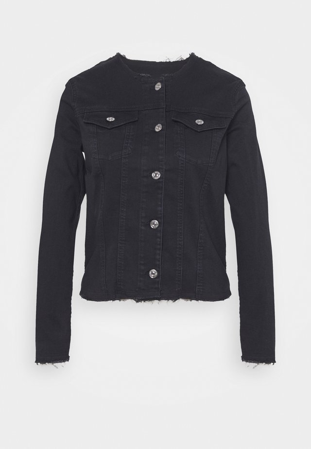 JACKET BAIR RINSED - Veste en jean - black