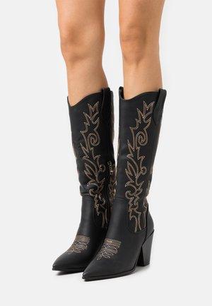 TRIUMPH - Cowboy/Biker boots - black