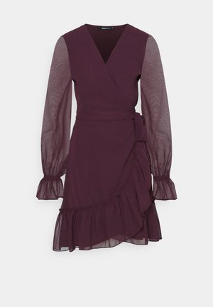 JULIANNA WRAP DRESS - Kjole - winetasting