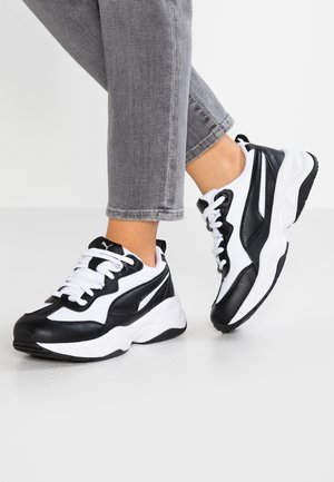 CILIA - Sneakers laag - black/white
