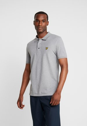 SLIM FIT - Piké - mid grey marl