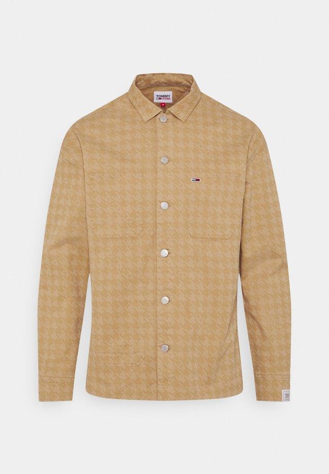 HOUNDSTOOTH - Skjorter - khaki