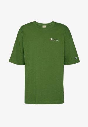 BOXY FIT CREWNECK - T-shirt imprimé - olive