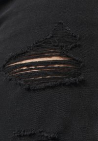 American Eagle - Slim fit jeans - destroyed black - 5
