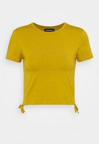 Even&Odd - Basic T-shirt - ecru olive - 3