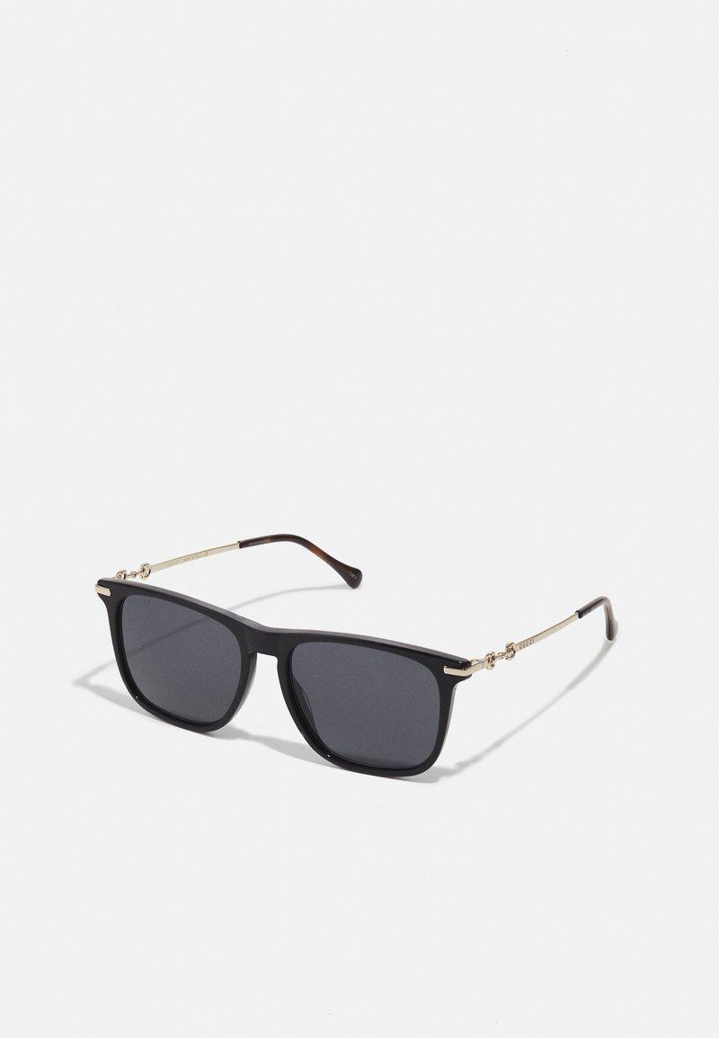 Gucci - UNISEX - Sunglasses - black/gold-coloured/grey