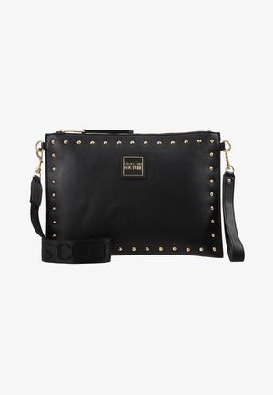 STUDDED POUCH ON STRAP - Clutch - black