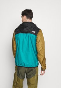The North Face - MENS FANORAK - Veste coupe-vent - teal/black/khaki - 2