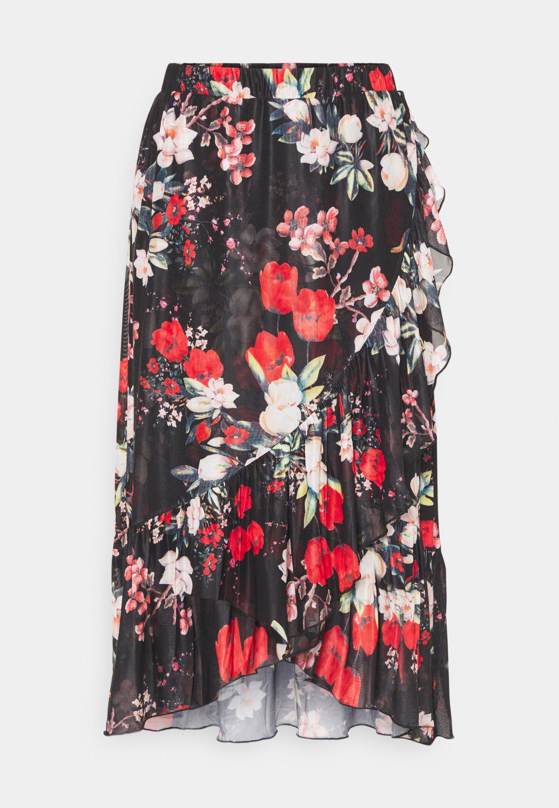 Women VIDAVIS WRAP MIDI SKIRT - Wrap skirt