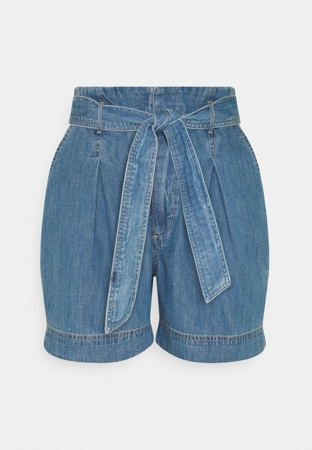 Denim shorts - indigo revival