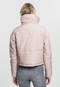Urban Classics - LADIES OVERSIZED HIGH NECK JACKET - Light jacket - rose - 1