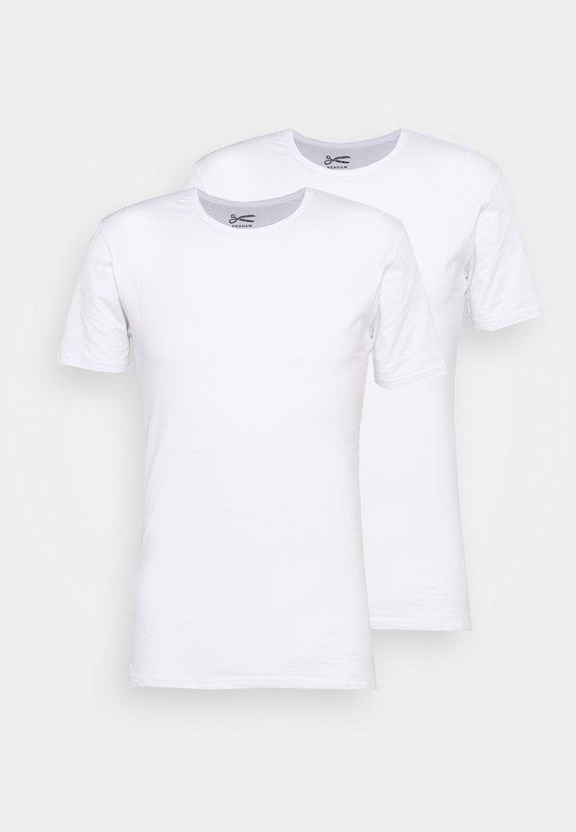 UNDERWEAR BACO 2 PACK - T-shirts basic - white