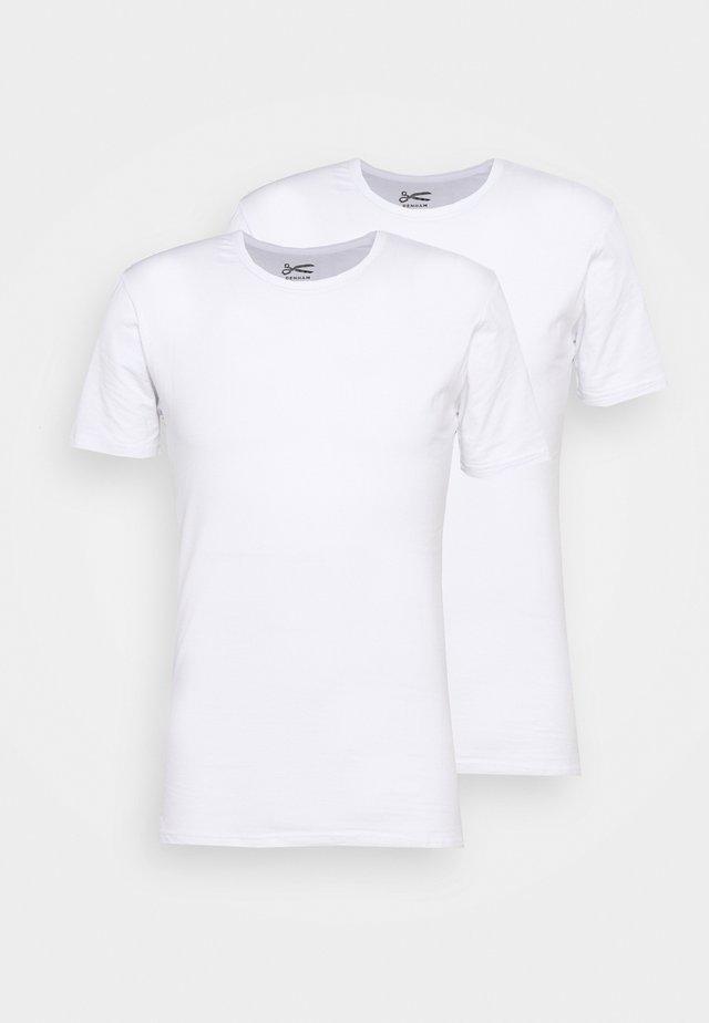 UNDERWEAR BACO 2 PACK - T-shirt - bas - white