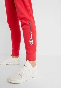 Champion - RIB CUFF PANTS - Træningsbukser - red - 3