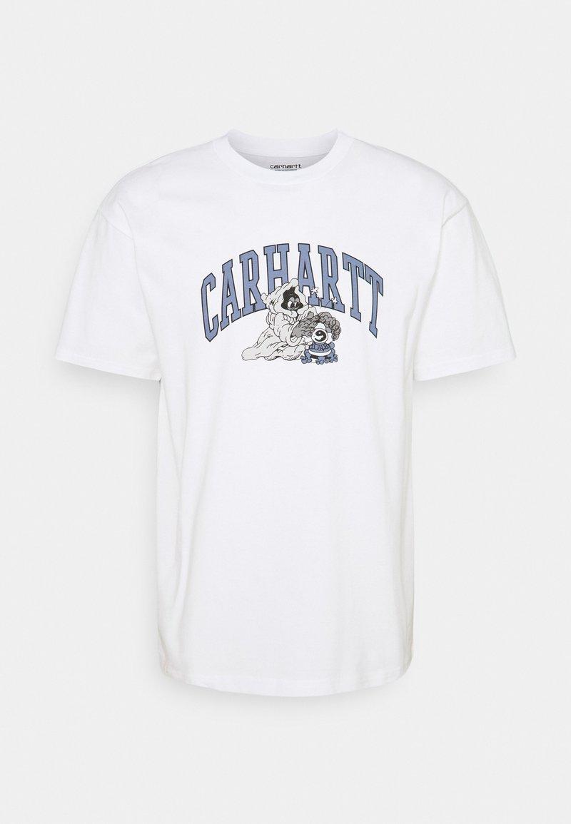 Carhartt WIP - KOGAN KULT CRYSTAL - Printtipaita - white