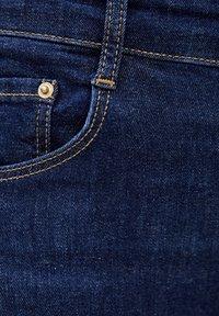 PULL&BEAR - PUSH UP - Jeans Skinny Fit - mottled dark blue - 6