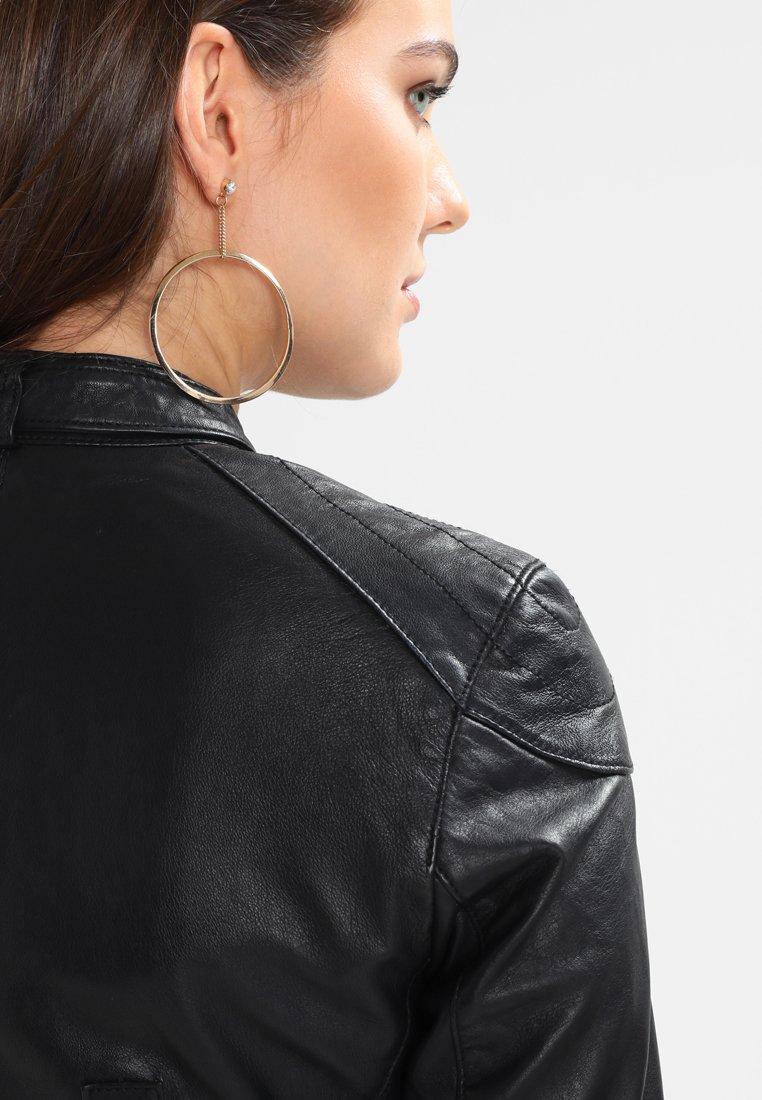 Maze RYANA - Lederjacke - black   Damenbekleidung billig