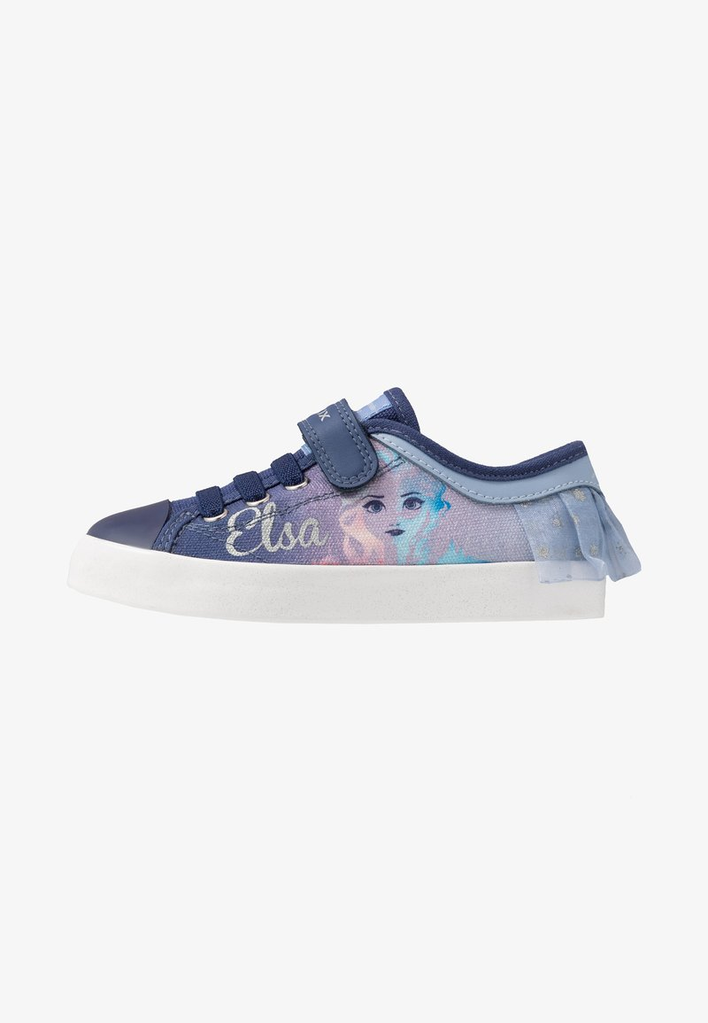Geox - CIAK GIRL FROZEN ELSA - Sneakers basse - light sky/navy