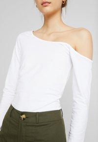 Even&Odd - Long sleeved top - white - 5
